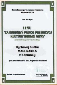 Cena Maguranka 2006