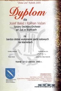 Diplom Rybnik 2005