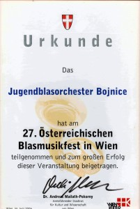 Diplom Wiedeň 2006