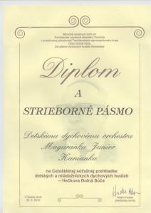 Dolná Súča Diplom 23.5.2010