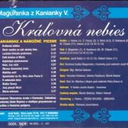 Maguranka CD 5 zadná strana