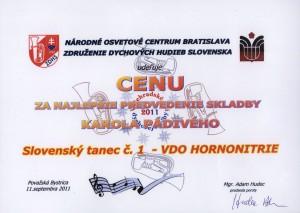 Pádivý ,cena 2011